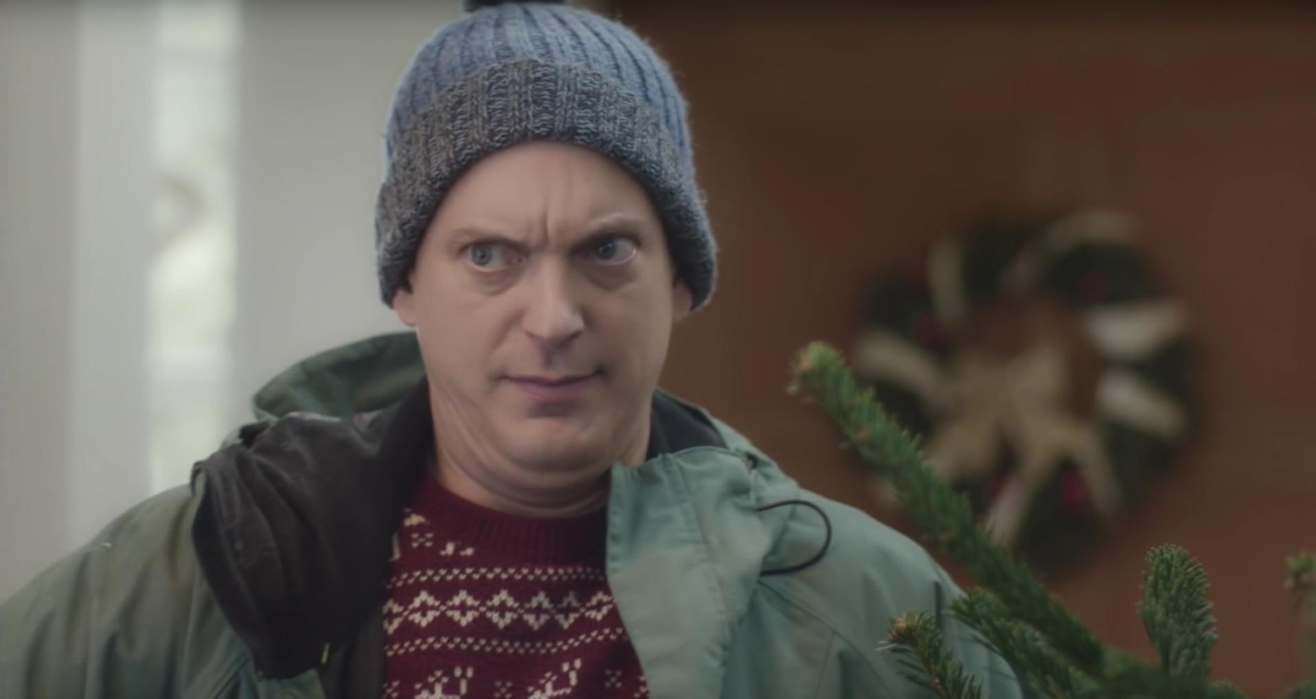 werbeaktion von niemand mag socken zu weihnachten