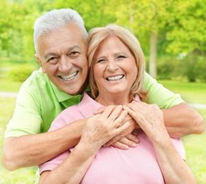 Älteres Ehepaar im Rentenalter
