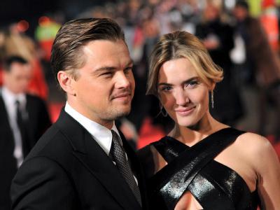 Die Hauptdarsteller der bekanntesten Titanic-Verfilmung: Leonardo Di Caprio und Kate Winslet. Foto: Daniel Deme/Archiv