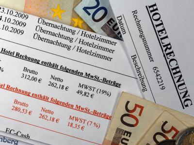 Der geplante Steuerbonus für Hotel-Übernachtungen sorgt in der Koalition für Ärger. (Symbolbild)