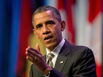 US-Präsident Obama will in Syrien angeblich einen politischen Übergang wie im Jemen erreichen. Foto: Peer Grimm