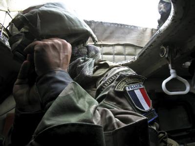 Ein Soldat der französischen Fremdenlegion bei einem Einsatz in Afghanistan.