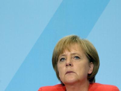 Bundeskanzlerin Angela Merkel: «Was die Umgangsformen in der Koalition anbelangt, müssen wir abrüsten».