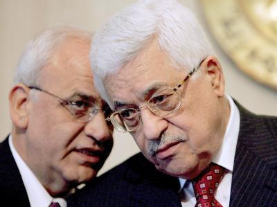 Erekat und Abbas