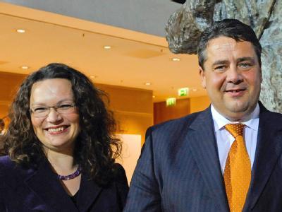 Andrea Nahles und Sigmar Gabriel: Die SPD sucht nach der Wahlschlappe einen personellen Neuanfang.