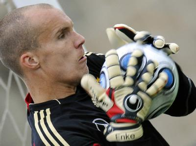 Nationaltorhüter Robert Enke