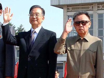 Wen Jiabao und Kim Jong Il