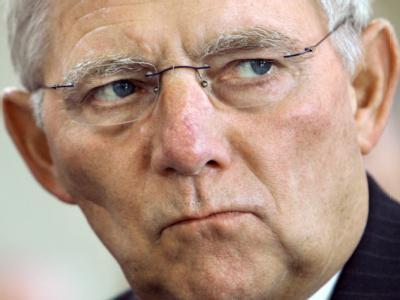 Bundesfinanzminister Schäuble: In der Koalition liegt die Zuständigkeit für den Euro bei Kanzlerin Merkel.