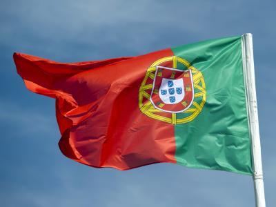 Nationalflagge von Portugal
