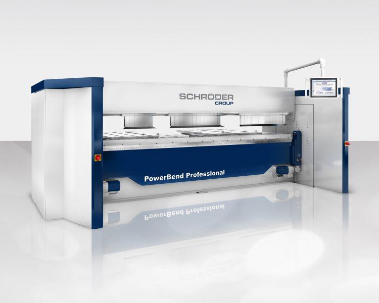 Schwenkbiegemaschine PowerBend Professional  (Bild:Schröder Group)