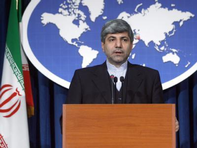 Ministeriums-Sprecher Mehmanparast