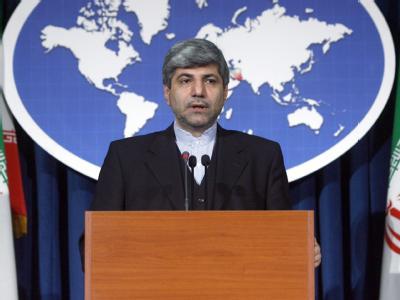 Außenamtssprecher Ramin Mehmanparast: «Kein Land hat das Recht, sich in Entscheidungen der Justiz einzumischen».