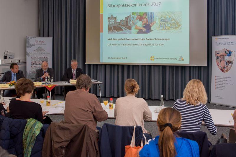 Bilanzpressekonferenz Klinikum / Bild: Markus Kuemmerle MPI