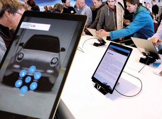Das In-Store-Touch-Terminal digitalisiert und vernetzt ein fortschrittliches und erfolgreiches digitales Business.