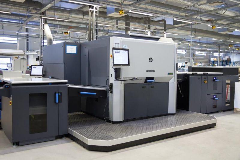 Neueste HP-Druckmaschine im Hause ORWO Net