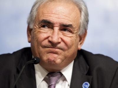 IWF-Chef Strauss-Kahn: «Wir müssen es schaffen, eine Ansteckung zu verhindern».