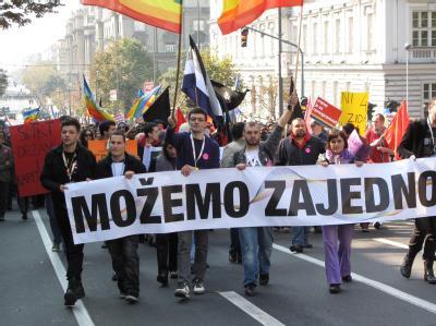 Homosexuelle in Belgrad