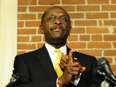 Herman Cain steigt aus dem Rennen um die Präsidentschaftskandidatur der Republikaner aus. Foto: CJ Gunther