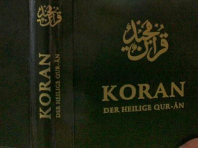 Nach Medienberichten wollen radikalislamistische Salafisten kostenlos 25 Millionen Koran-Exemplare an Nichtmuslime abgeben. Foto: Frank May/Symbolbild