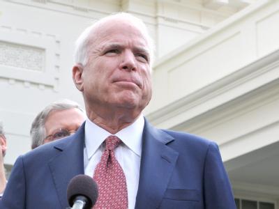 Der ehemalige Obama-Kontrahent John McCain ist mit der Politik des jetzigen Präsidenten nicht zufrieden.