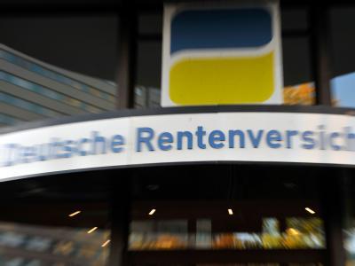 Die Zentrale der Deutschen Rentenversicherung in Berlin.