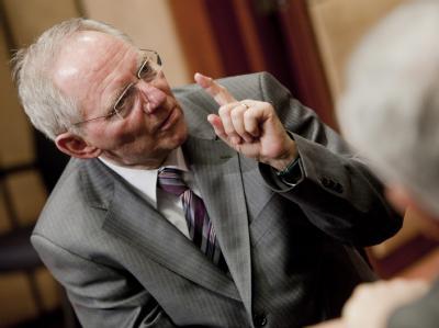 Wolfgang Schäuble ist Finanzminister der Schwarz-Gelben-Koalition.