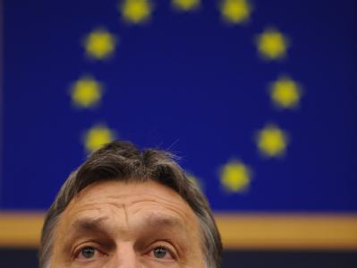 Der Kurs von Ungarns Regierungschef Viktor Orban wird innerhalb der EU kritisch gesehen. Foto: Patrick Seeger
