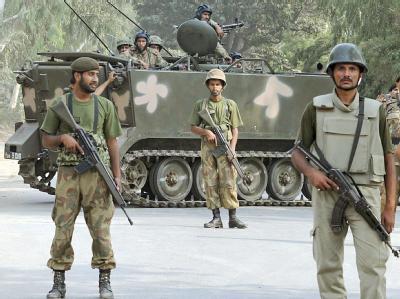 Einsatz in Lahore
