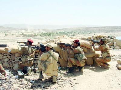 Kampf im Jemen