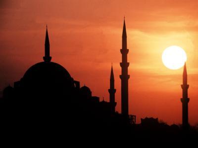 Minarette in Istanbul