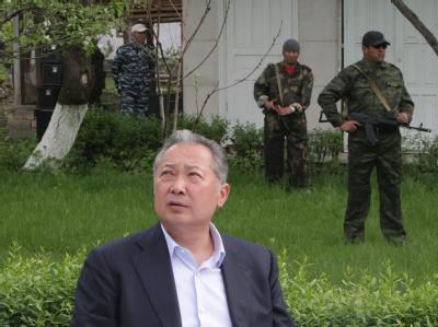 Präsident Bakijew