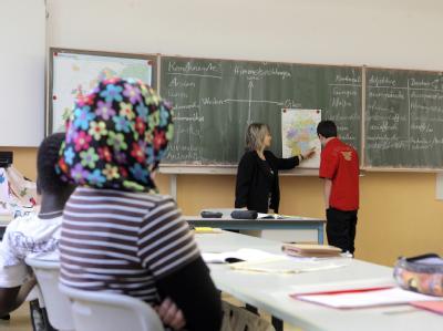 Die Integrationsbeauftragte Maria Böhmer fordert mehr Lehrer mit Migrationshintergrund (Archiv).<br/>
