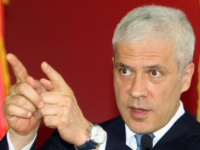 Serbiens Staatspräsident Boris Tadic: «Serbien wird keinen Krieg führen».