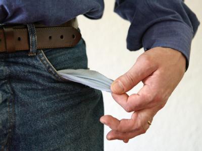 Leere Tasche