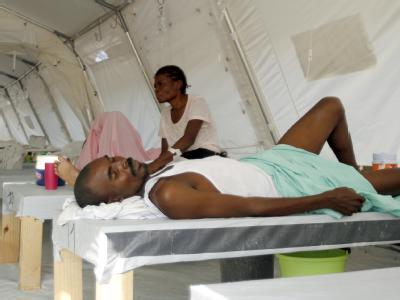 Cholera-Kranke