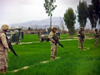Patrouille in der Provinz Khost