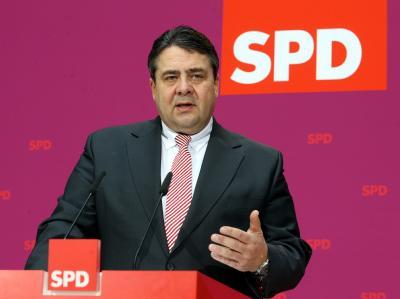 Sigmar Gabriel: «Wenn es mehrere gibt, werden das die Mitglieder der deutschen Sozialdemokratie entscheiden». Foto: Wolfgang Kumm