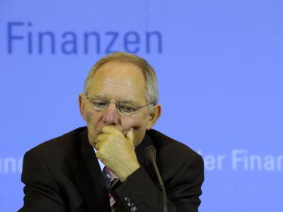 Finanzminister Sch�uble