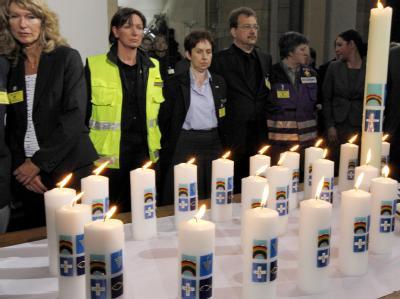 21 Kerzen für 21 Opfer