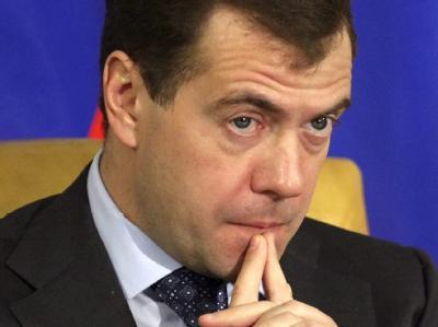 Kremlchef Medwedew hat erneut schwere Defizite im politischen System Russlands eingeräumt.