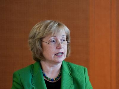 Die Staatsministerin und Beauftragte der Bundesregierung für Migration, Flüchtlinge und Integration, Maria Böhmer.