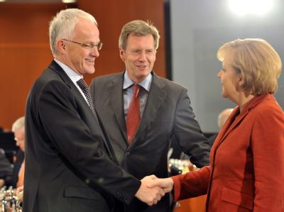 Rüttgers, Wulff, Merkel