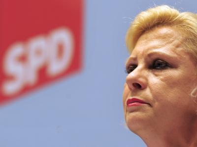 Die Sprecherin der Demokratischen Linken (DL), Hilde Mattheis. Foto: Stefan Puchner/Archiv