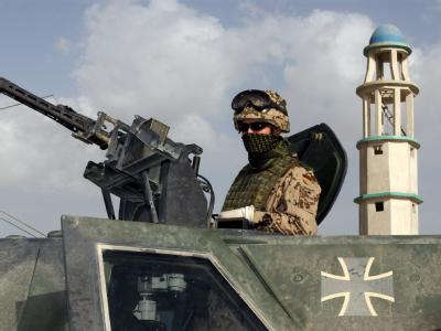 Patrouille in Kabul