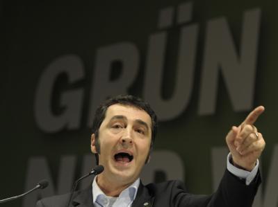 Grünen-Chef Cem Özdemir zweifelt an der Regierungsfähigkeit der Linkspartei. (Archivbild)