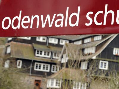Blick auf die Odenwaldschule im hessischen Ober-Hambach.