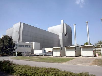 Ein Blick auf das ehemalige Kernkraftwerk in Würgassen.