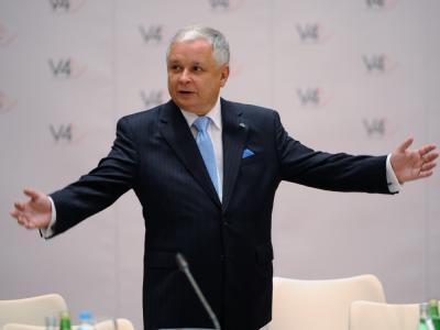 Präsident Lech Kaczynski