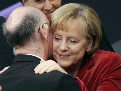 Angela Merkel und Norbert Lammert