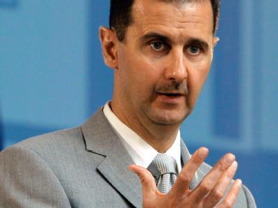 Syriens Präsident Baschar al-Assad (Archivbild)